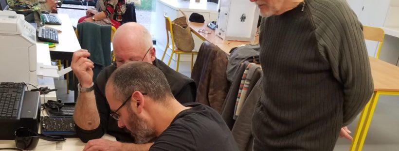 La Scierie Créative - Repair Café - FabLab Figeac - réparation sèche cheveux collaboratif électronique bricolage 04